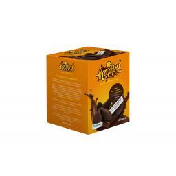 Хэппи Глюкскекс Шоколадное печенье с предсказаниями коробка 10шт.