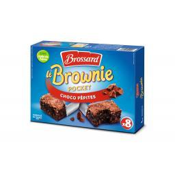Броссард Мини брауни с шоколадной крошкой 8шт.