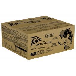 Nassfutter AGAIL Fleisch & Fisch Jumbopack, 120x100g