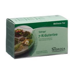 Teebeutel Wellness 7-Kräutertee 20 Stück