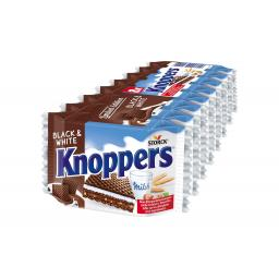 Knoppers Black & White 8 x 25 g