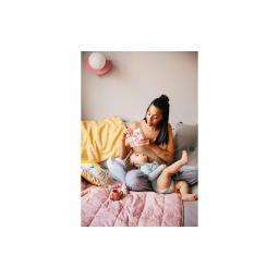 Лёвензан Органикс Батончики Энеджи Байтс для кормящих мам,малина 4шт.