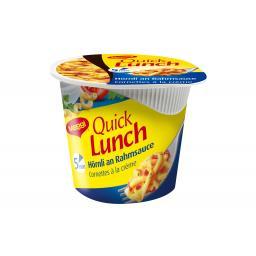 Quick Lunch Hörnli Rahm 63 g