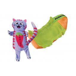 Katzen-Spielzeug Pull-A-Partz Burrito, 14 cm