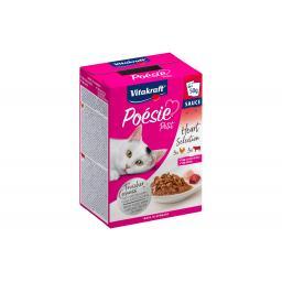 Nassfutter Poésie Petit Multipack Rind & Geflügel, 6 x 50 g