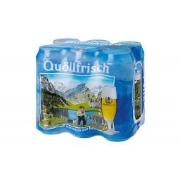 Bier Quöllfrisch 6 x 0.5 l