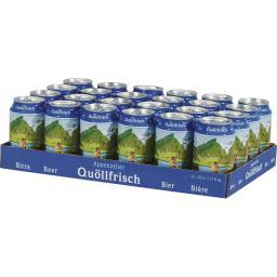 Bier Quöllfrisch 24 x 0.33 l