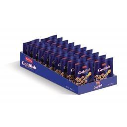Кэмбли Солёное печенье Золотые Рыбки маленькие упаковки 20х30г.
