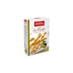 Кэмбли Закуски Хрустящие скрученые палочки с оливками 100г.