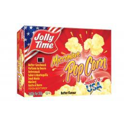 Джолли Тайм Сливочный попкорн для микроволновки 300г.