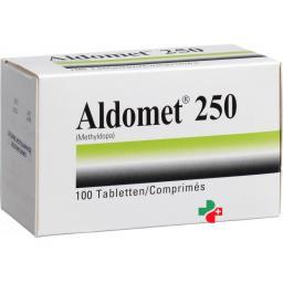 Алдомет 250 мг 100 таблеток