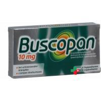 Бускопан 10 мг 6 суппозиториев