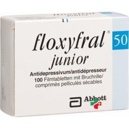 Флоксифрал Джуниор 50 мг 100 таблеток покрытых оболочкой