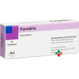 Фюродрикс 40 мг 10 таблеток