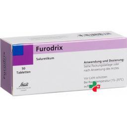 Фюродрикс 40 мг 50 таблеток