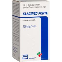 Клаципед Форте 250 мг / 5 мл суспензия 100 мл
