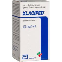 Клаципед 125 мг / 5 мл  суспензия 100 мл