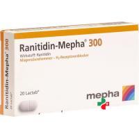 Ранитидин Мефа 300 мг20 таблеток покрытых оболочкой