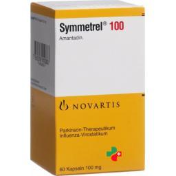 Симметрел 100 мг 60 капсул
