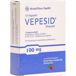 Вепезид100 мг 10 капсул