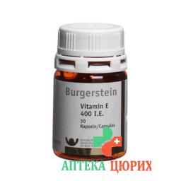 Burgerstein Vitamin E 400 I.E. 100 Kaps