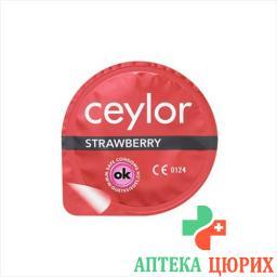 Ceylor Strawberry презерватив 6 штук