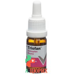 Триофан от насморка для детей капли в нос 10 мл