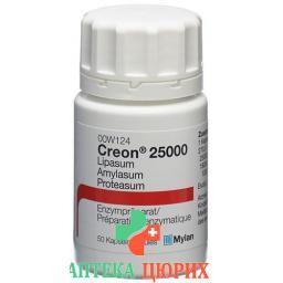 Креон 25'000 50 капсул