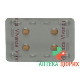 Виванца 5 мг 12 таблеток покрытых оболочкой