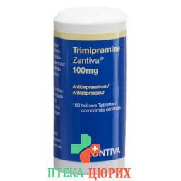 Тримипрамин Зентива 100 мг 100 таблеток