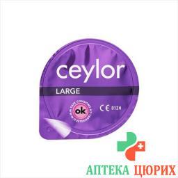 Ceylor Large презерватив 6 штук