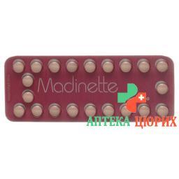 Мадинет 6 x 21 таблетка покрытая оболочкой