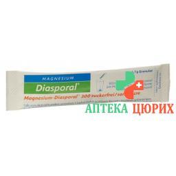 Магний Диаспорал 300 мг без сахара 50 пакетиков