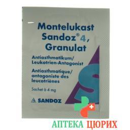 Монтелукаст Сандоз гранулы 4 мг 28 пакетиков