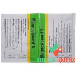 Магнезиокард Лимон гранулы 5 ммоль 20 пакетиков по 5 г