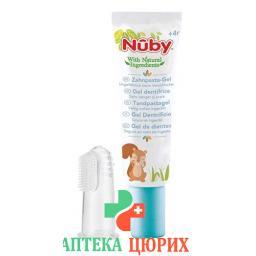 Nuby All Naturals Fingerзубная счётка Zahn 20г
