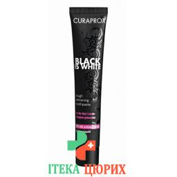 Curaprox Black Is White зубная паста 90мл
