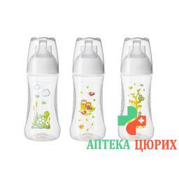 Bibi бутылка Sh Happiness 260мл Natsil 0+