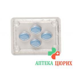 Виагра 100 мг 4 таблеток покрытых оболочкой