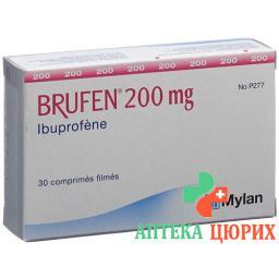 Бруфен 200 мг 30 таблеток покрытых оболочкой