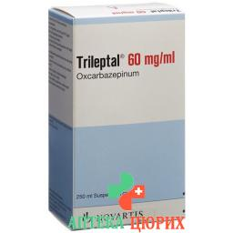 Трилепталсуспензия 6 % 250 мл