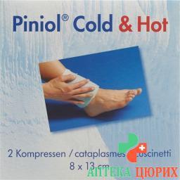 Пиниол Колд / Хот компресс 8 см x 13 см 2 шт