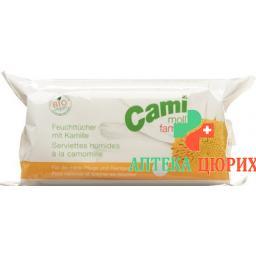 Cami Moll Familia Feuchttucher Softpack 72 штуки