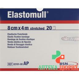 Elastomull марлевый бинт Weiss 4мX8см 20 штук