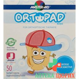 Ortopad Occlusionspflaster Junior Boys -2j 50 штук