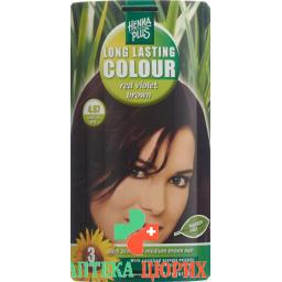 Henna Plus Long Last Colour 4.67 Henna Rot Vio Bro