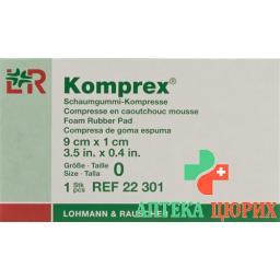 Komprex Schaumgummi Kompressen 9см x 1см