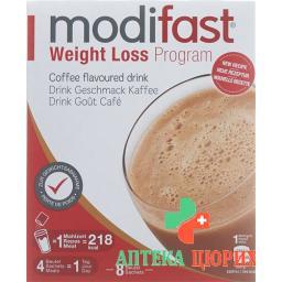 Modifast Weight Loss Program Drink Kaffee 8 X 55 g