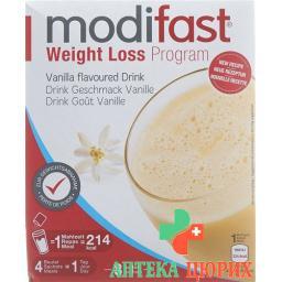Модифаст программа потери веса напиток ванильный 8x55 грамм