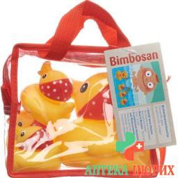 Bimbosan Kofferchen 4 Quitsch Enten Bad